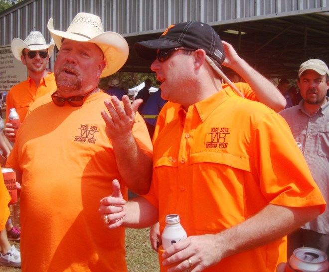 Waco Boys At 2016 World Championship BBQ Goat Cook-Off In Brady Texas