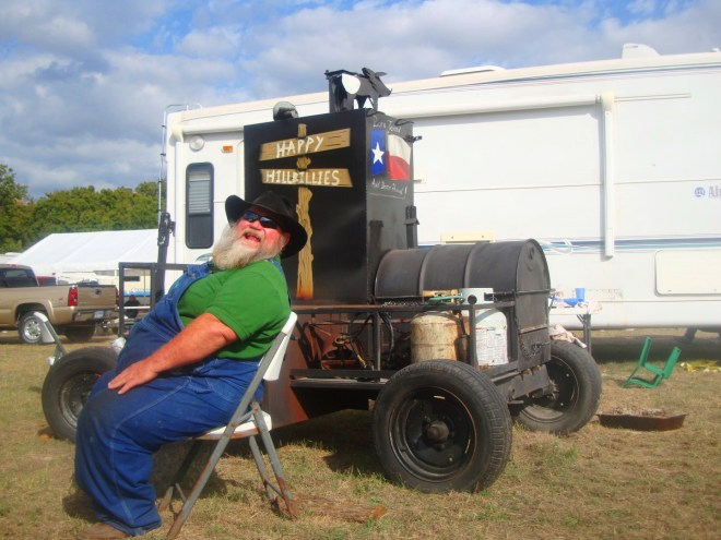 Jim Towers Is The Happy Hillbilly of Groesbeck Texas