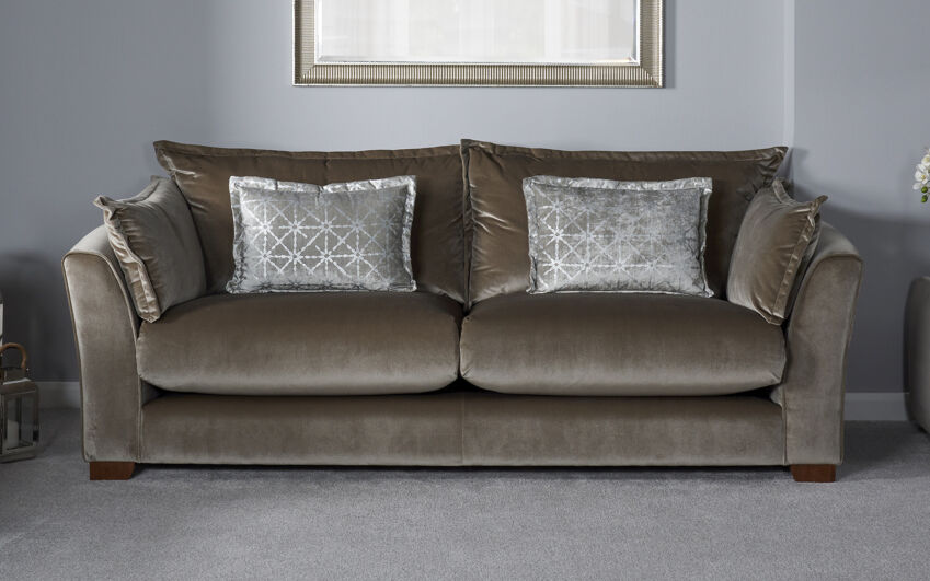 4 seater sofas family size fabric