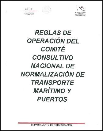 Reglas de Operación del Comité Consultivo Nacional de