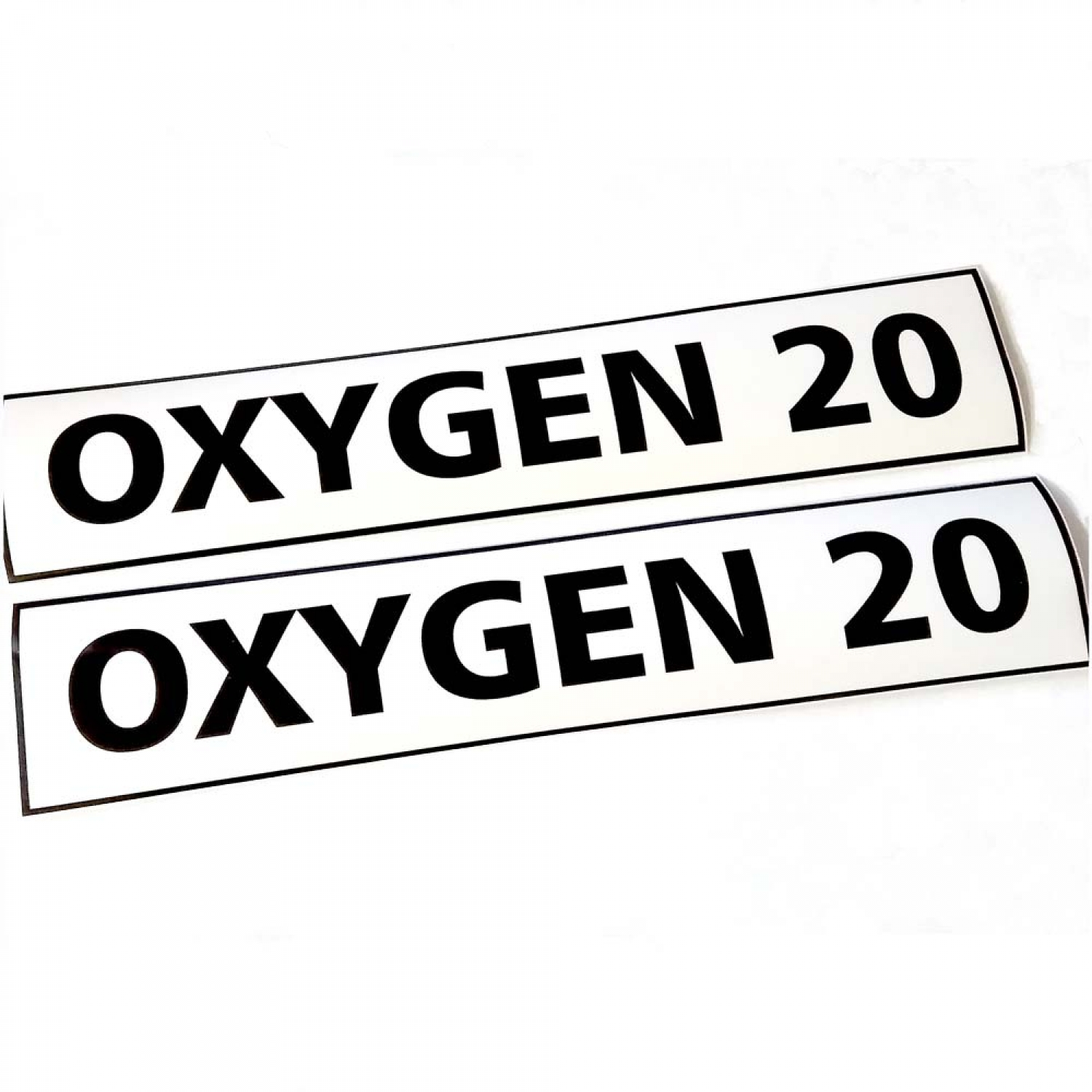 Oxygen Mod Sticker Scuba Diving Gas Cylinder Deco Tank