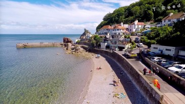 A view of Babbacombe Bay