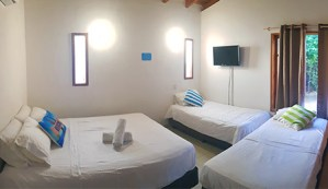Sunrise habitación Scuba Boutique hotel San Andrés