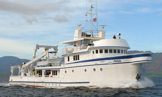 MV Argo - Cocos Island Costa Rica liveaboard high budget option