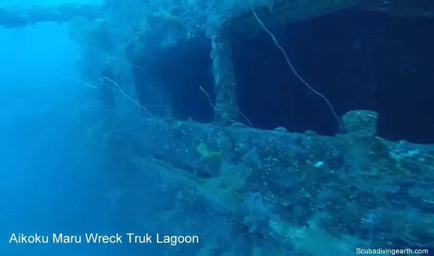 Aikoku Maru Wreck Truk Lagoon
