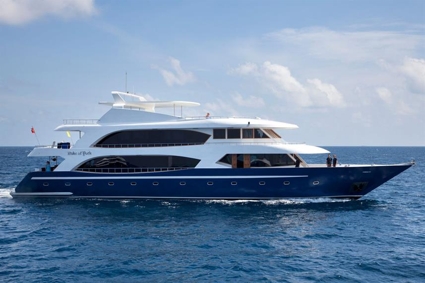 Duke of York Liveaboard with family cabins
