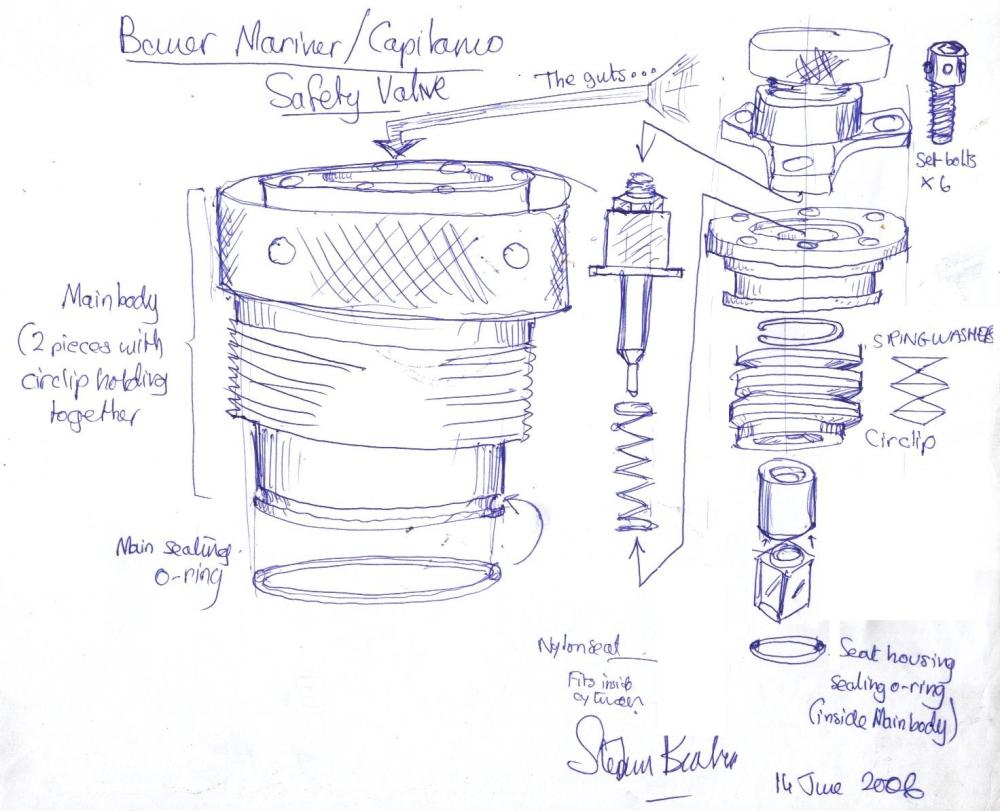 medium resolution of bauer compressor safety valve note that it may be illegal for a lay person to