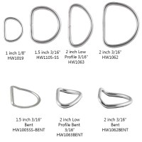 Dive Rite Stainless Steel D-Ring - Fittings & Clips ...