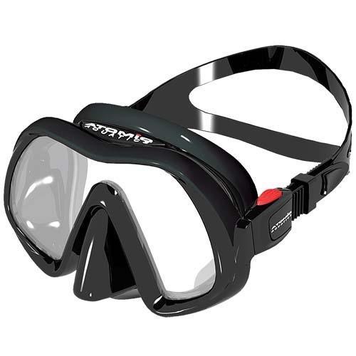 Atomic Venom Framerless Scuba Dive Mask. 04-0160-00 04-0165-00 - Diving Masks - Scubatoys.com