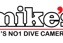 mike's dive cameras logo