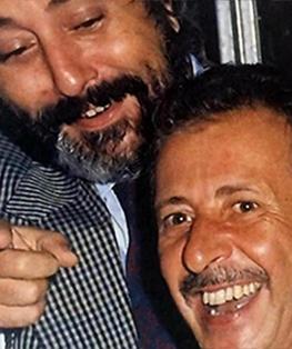 Giovanni Falcone (sinistra) e Paolo Borsellino (destra)