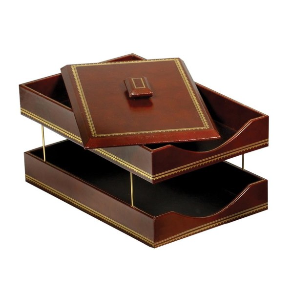 Leather Desk Accessories Gift