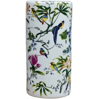 Flower and Bird Porcelain Umbrella Stand | Umbrella Stands ...
