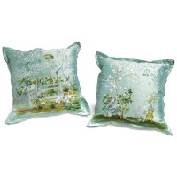 Gracie Design Silk Pillows | Pillows | Home Decor ...