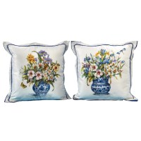 Botanical Design Pillows Blue | Pillows | Home Decor ...