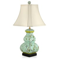 Square Gourd Lamp   Table & Desk Lamps   Lamps   Home ...