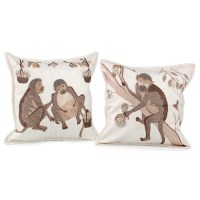 Monkey Love Pillows | Pillows | Home Decor Accessories ...