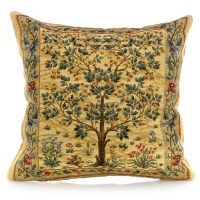 Tree of Life Beige Tapestry Pillows | Pillows | Home Decor ...