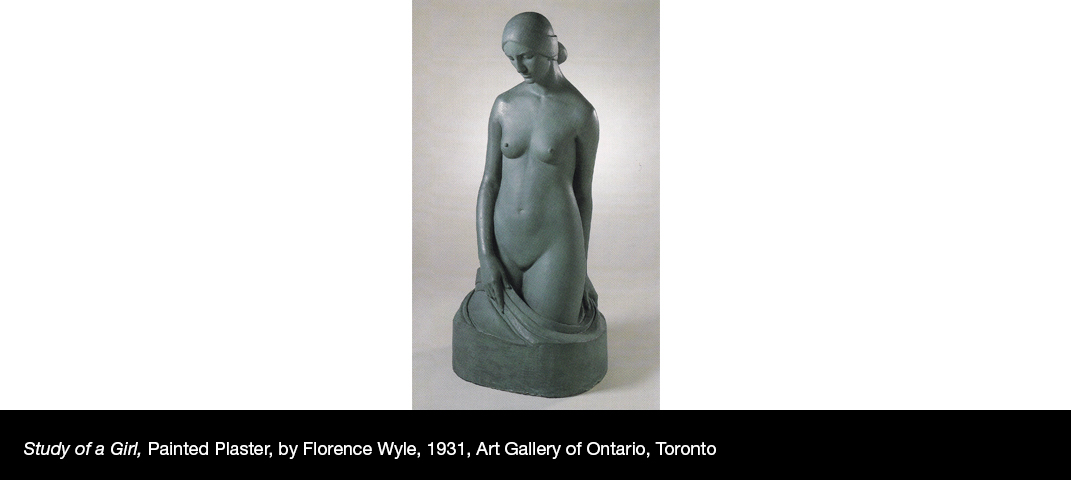 Study-of-a-Girl-Painted-Plaster-by-Florence-Wyle-1931-Art-Gallery-of-Ontario-Toronto