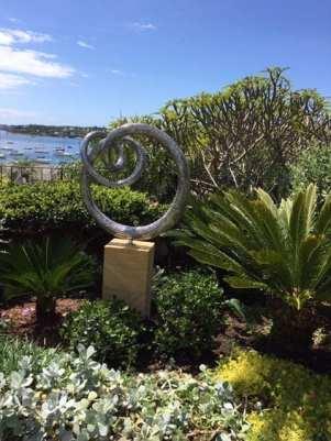 Grace steel sculpture