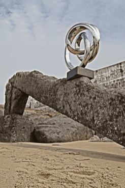 Double Twisted - Stainless Steel Sculpture 21