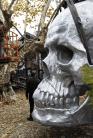 vanitas steel sculpture from sculptura by christian maas