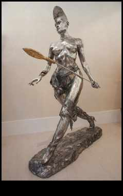 Christian Maas - bronze sculpture at Sculptura