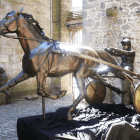 Trotteur bronze sculpture from Sculptura by Christian Maas