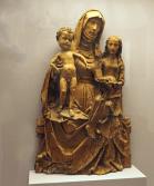 Sculptura Top 100 historical sculptures - 96.-The-Head-of-Saint-Anne - -Tilman-Riemenschneider