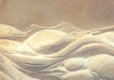 Flowing water memorial