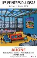 Affiche : Exposition des Peintres du Josas 2018