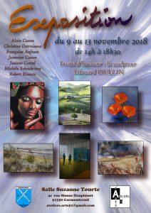 Affiche exposition Cormontreuil2018