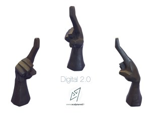 """Digital 2.0"" 2017 (bronze)"