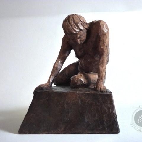 """""""Résilience"""" 2018 (argile patinée)"""