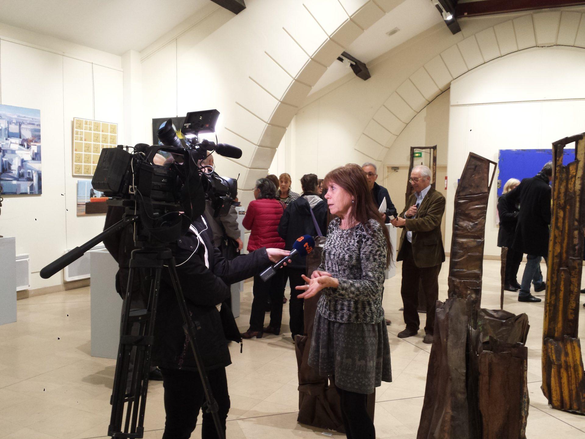 TV 78 et Elisabeth Oulès, invitée d'honneur