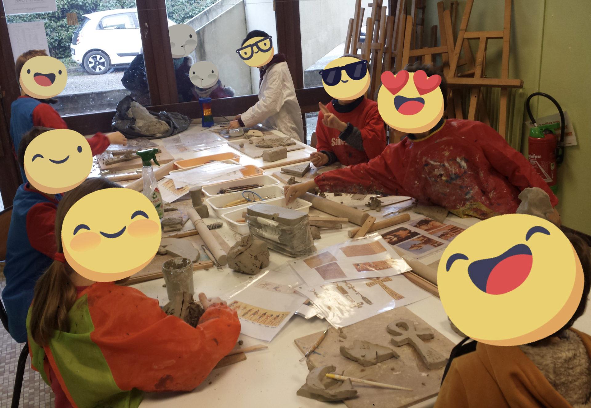 Atelier de poterie et modelage enfants à saint-cyr-l-école