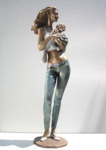 Toro infuriato cm.30x45x30 anno 2007 - scultura cavallo, statua cavallo, statue di animali, sculture di animali, statue di cavalli, statue animali per giardino
