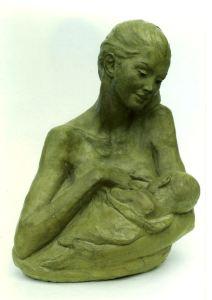 Verso nuovi spazi cm.34x20x15 anno 2006 - statue statuette e sculture di bronzo in vendita a prezzi speciali dall'artista scultore