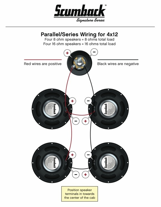 Speaker Wiring Diagram Series Parallel Parallel Speaker Wiring Diagram