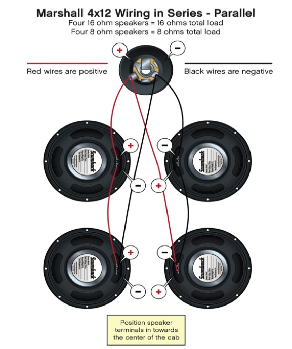 Wiring Diagram For Guitar Speaker Cabinet