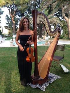 Valentina Garofoli, insegnante di violino alla Scuola di Musica di Castel del Piano