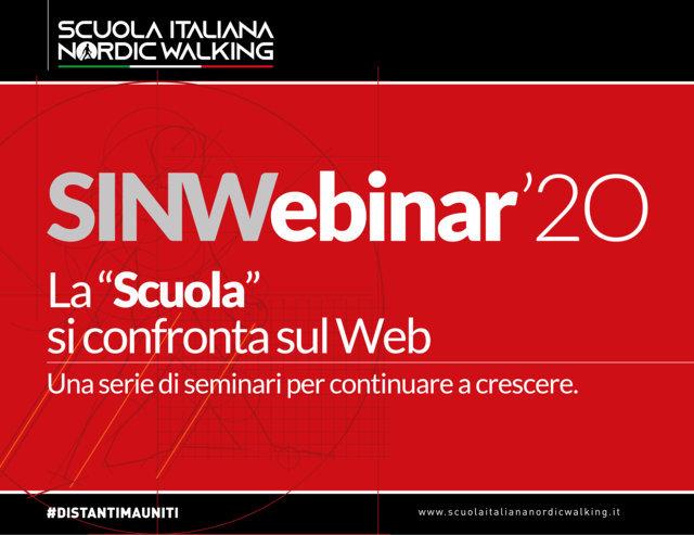 La SINW non va in vacanza, ma in Webinar