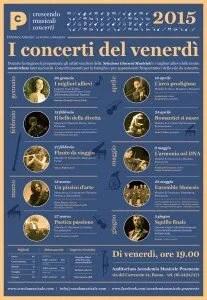 crescendo musicali 2014/2015: manifesto online