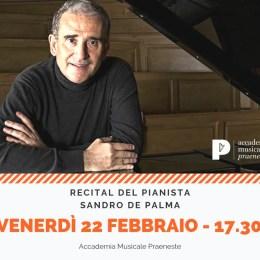 il pianista sandro de palma in concerto: i miti della musica