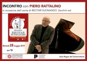 Piero Rattalino: recitar suonando. Presentazione Conservatorio L'Aquila