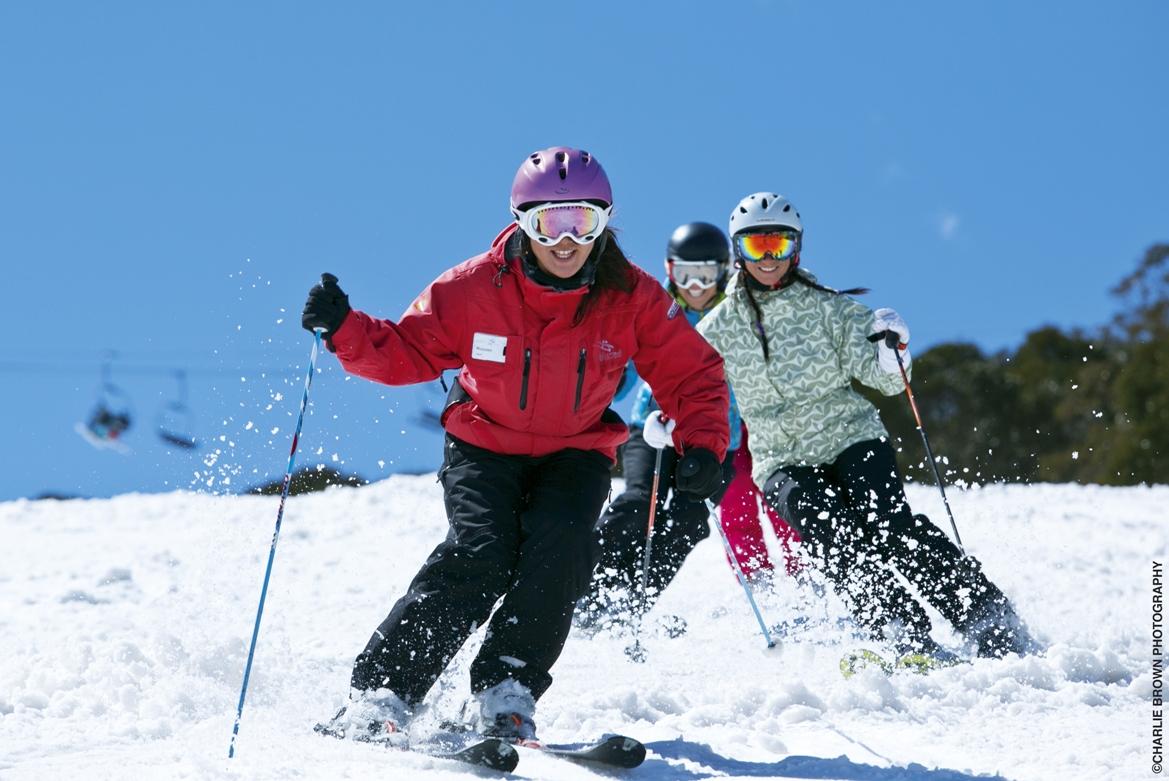 Ski Schule Helm Recht Pinzolo Val Rendena Skilehrer