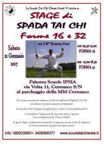 Volantino Stage Spada