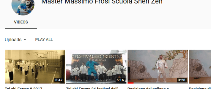 Canale video su YouTube