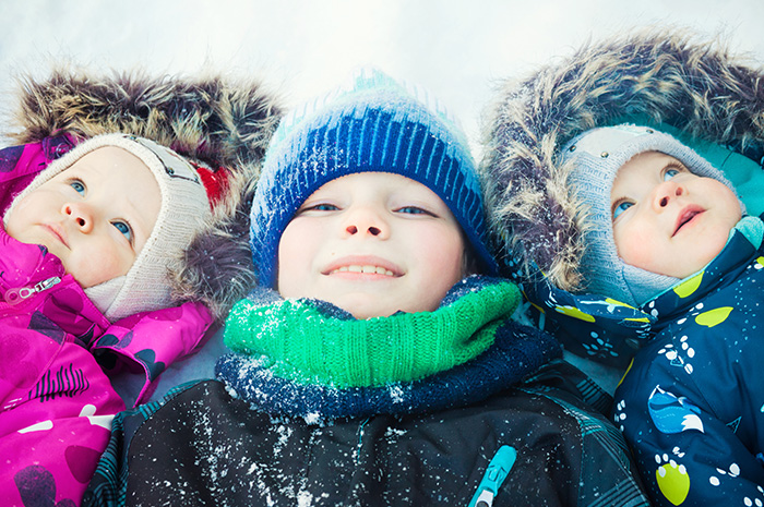 tip to keep children safe during cold weather