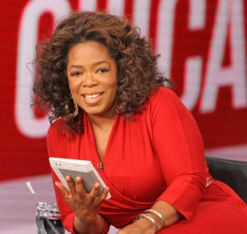 Oprah Loves Her Kindle
